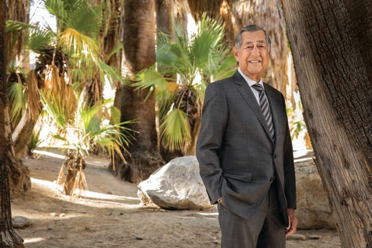 Larry N. Olinger, the tribal council vice chairman and a former chairman of the Agua Caliente Band of Cahuilla Indians, died Monday, July 15, 2019. A memorial service will be held Aug. 5.