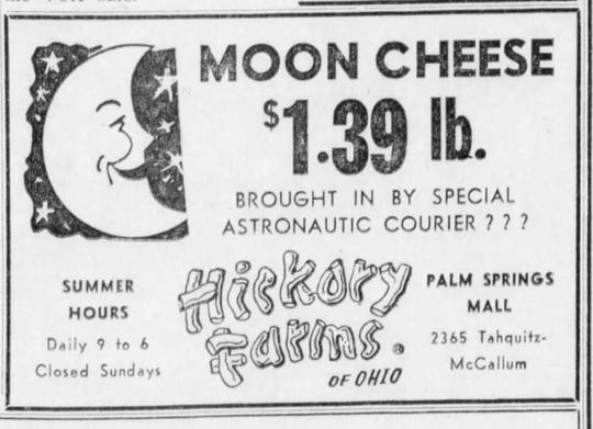 Moon cheese, only $1.39.