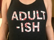 Janelle wore this shirt to tap class on Saturday. I was completely jealous.