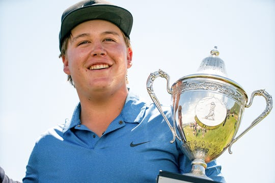 Scottsdale Chaparral junior Preston Summerhays wins his second Utah State Amateur title