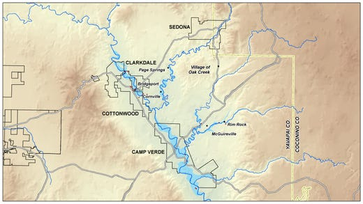 Recent UA study confirms groundwater pumping is drying up Arizona rivers'