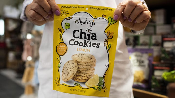 Audrey's Chia Cookies: How training for a marathon inspired these sweet treats