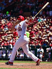 Paul Goldschmidt is in his first season with the St. Louis Cardinals.