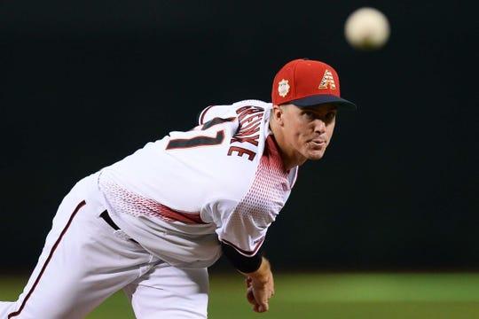 Arizona Diamondbacks starting pitcher Zack Greinke is attracting interest on the MLB trade market.