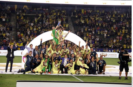 América derrotó a Tigres y se proclamó campeón de campeones del futbol mexicano.