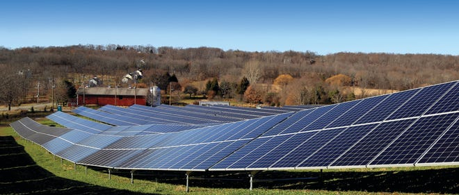 Clearway Is Developing Solar Farms like this one throughout the Hudson Valley and thousands of residents have enrolled.