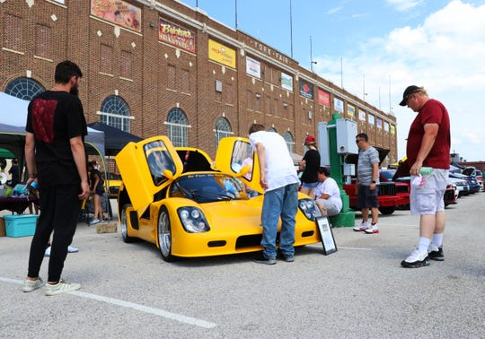 Over $13,000 was raised at Ayden's Cars for Kids on Sunday, July 14.