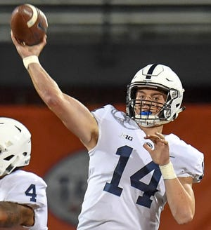 Sean Clifford is expected to be Penn State's starting quarterback this fall.