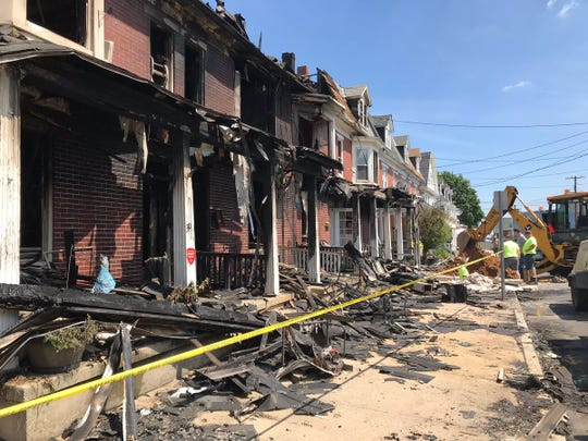 Red Lion fire on first block of Boundary Avenue caused by overloaded electrical outlet.