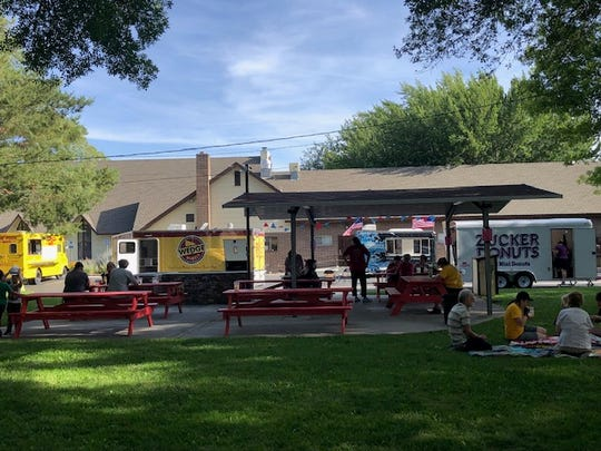 Sizzling Saturdays, a new food truck event, takes place in the private park on the north side of the United Methodist Church on Pyramid Way in Sparks.