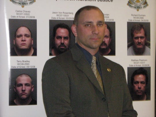 Sgt. Dennis Carry of the Washoe County Sheriff's Office pictured in 2008 file photo.