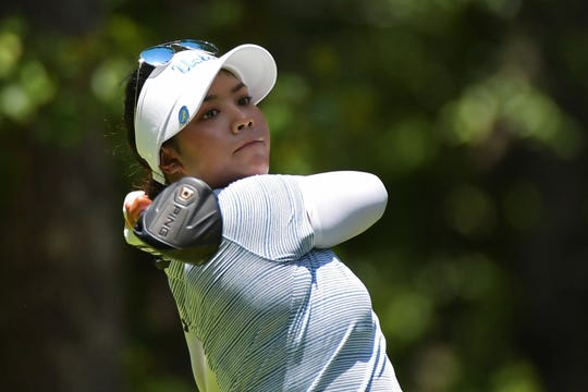 Patty Tavatanakit of Thailand plays her tee shot on the second hole during the final round of the 2018 U.S. Women's Open at Shoal Creek on June 3, 2018, in Shoal Creek, Alabama. Tavatanakit picked up her first professional win last week.