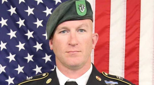 "Sgt. Maj. James G. ""Ryan"" Sartor, 40, assigned to 10th Special Forces Group (Airborne), died July 13, 2019 in Afghanistan."