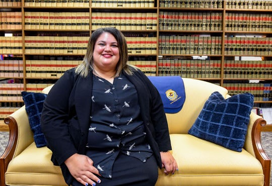 Tamara Nash, special assistant U.S. attorney, poses for a portrait in the Department of Justice building Monday, July 15, in Sioux Falls.
