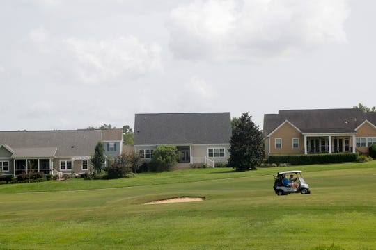 Golfers play at Southwood Golf Club Sunday, July 14, 2019.