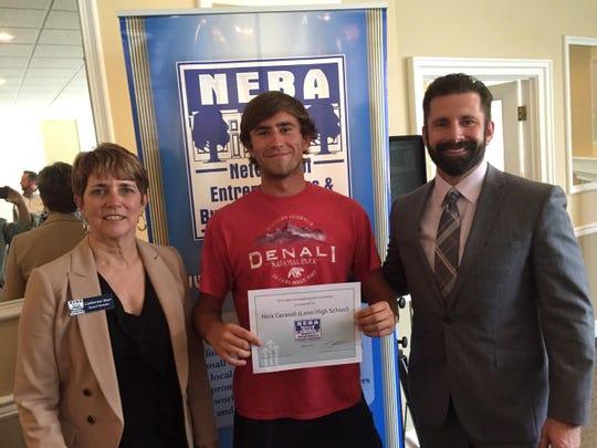 Scholarship winner 2019 Nick Cerasoli.