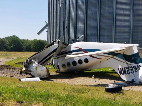 John McConnell Jr. was killed June 10 when his plane crashed into a grain silo in rural Missouri, hours after taking off from the Vero Beach airport.