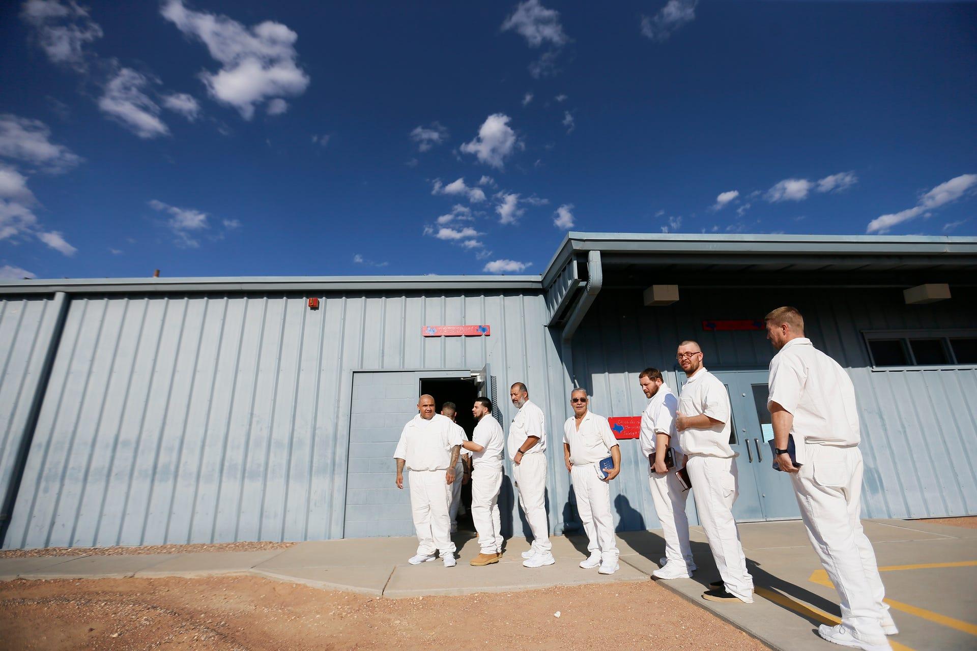 Rogelio Sanchez State Jail church service