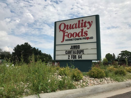 The Quality Foods IGA in Rib Mountain at 2900 Rib Mountain Dr. is shown on Monday, July 15, 2019. On July 22 it will be sold to Ron Lamb, owner of Lamb's Fresh Market on Wausau's north side.