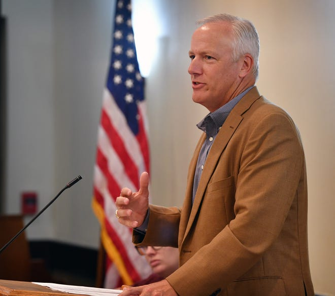 Texas House of Representatives for the 69th District James Frank said Wednesday he will be running for re-election right here in Texas and does not aim to run for retiring Congressman Thornberry's position.