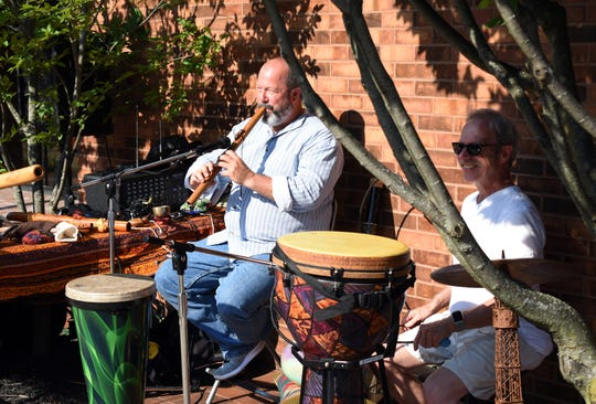 The market has incorporated live entertainment this year as part of the experience.