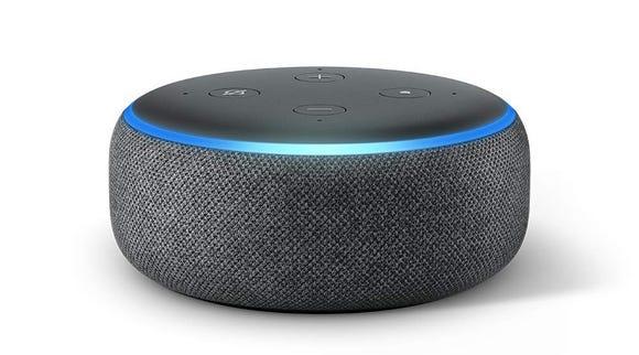 The Echo Dot is Amazon's most popular smart speaker.
