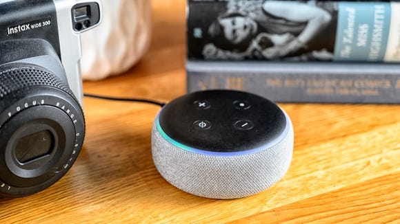 The Echo Dot pairs with Alexa all over your house