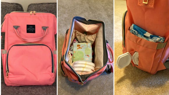The HaloVa is a great diaper bag at a great price