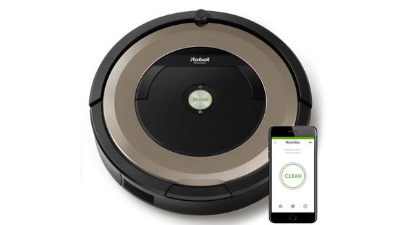 The iRobot Roomba 891 has smart features and more suction power than previous models.