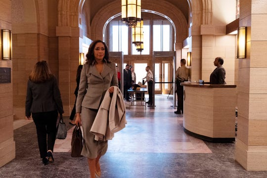 Jessica Pearson (Gina Torres), a high-powered lawyer in 'Suits,' moves to a new city, Chicago, and a new job, mayoral fixer, in the USA Network spinoff drama, 'Pearson.'