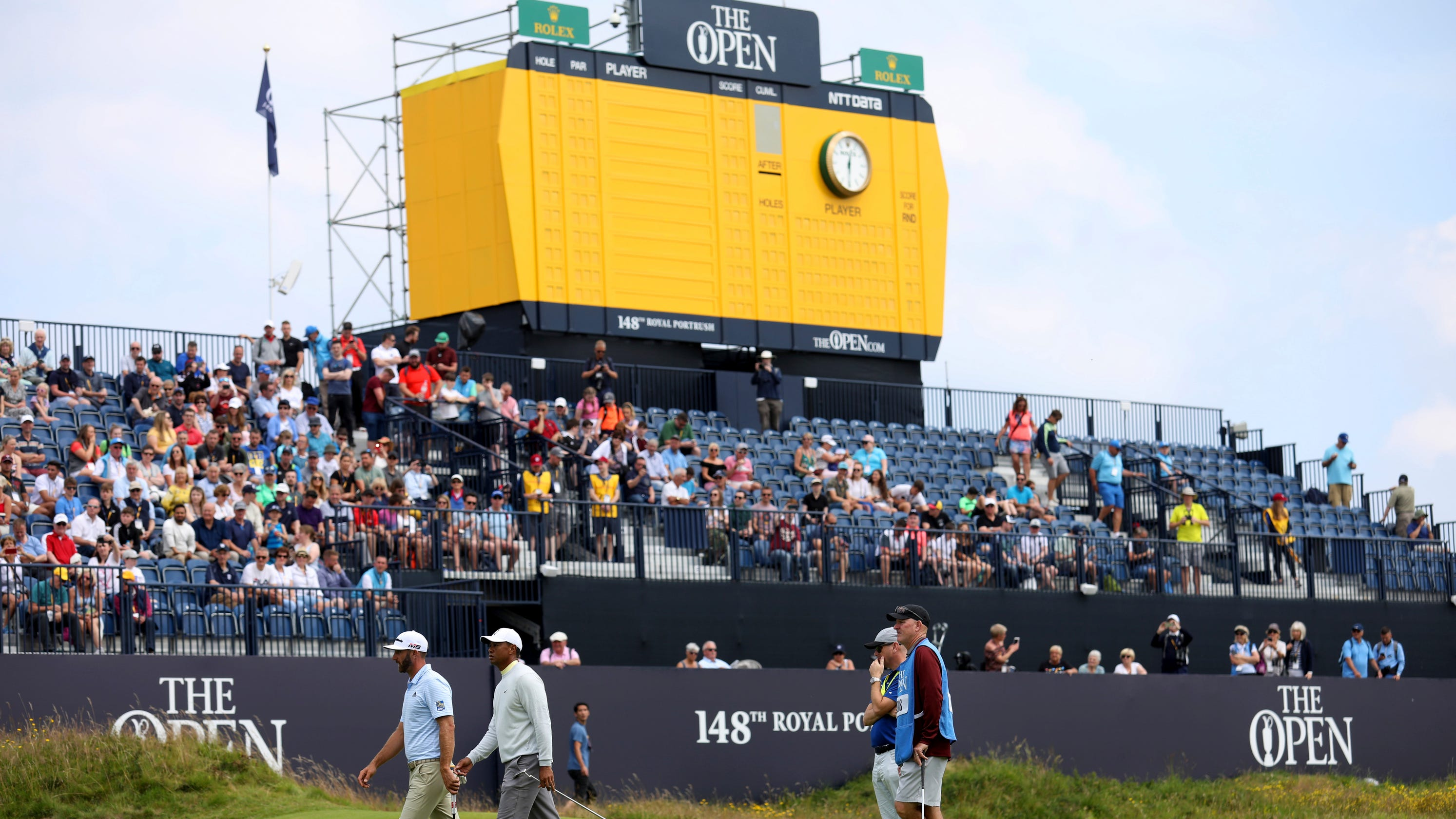 British Open 2019: Round 1 and 2 tee times and pairings
