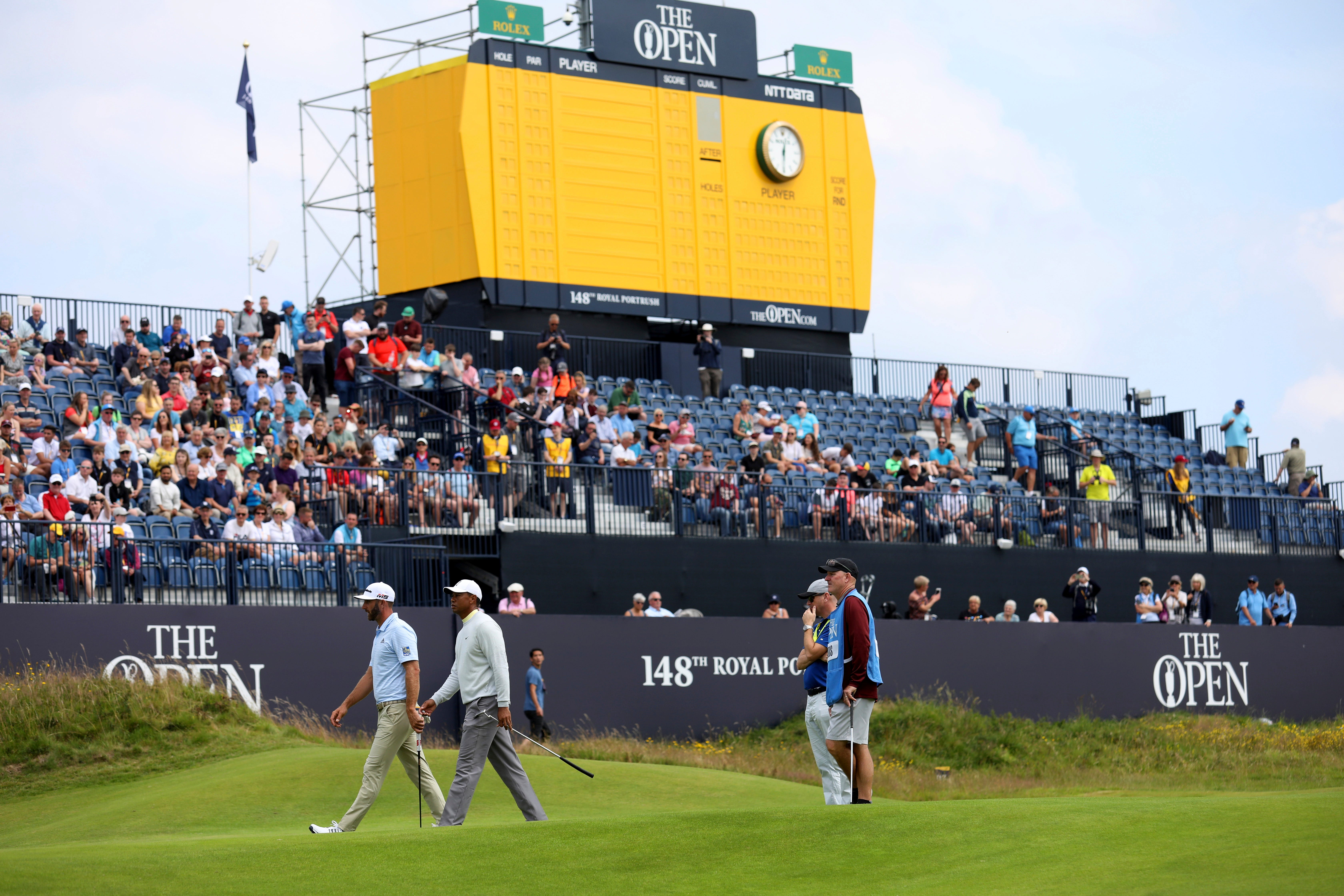 british open 2019 tee times  pairings for round 1 and 2