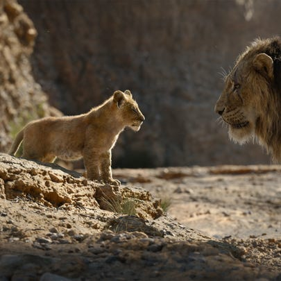 "THE LION KING - Featuring the voices of JD McCrary and Chiwetel Ejiofor as Scar, Disney's ""The Lion King"" is directed by Jon Favreau. In theaters July 19, 2019. © 2019 Disney Enterprises, Inc. All Rights Reserved."