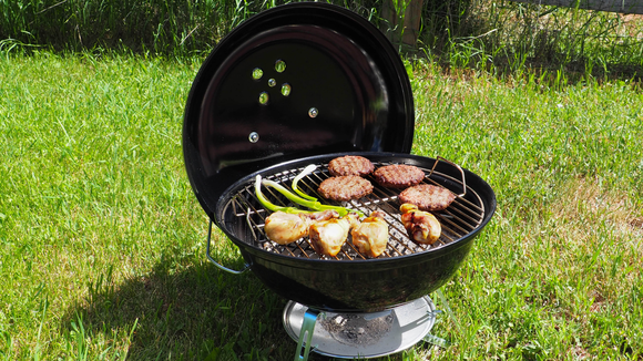 The Weber Jumbo Joe is our pick for Best Portable Charcoal Grill.