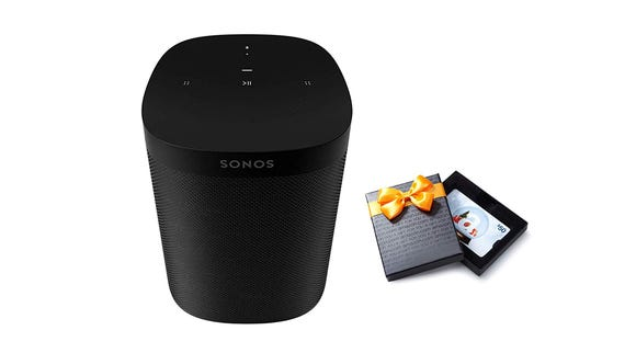 The Sonos One doesn't require a separate Google smart speaker because it comes with Google Assistant built in.