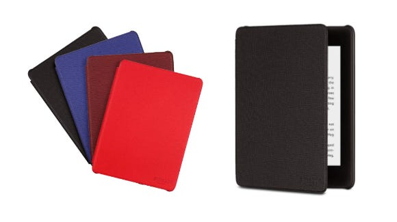 Available in four colors, a leather cover for your Kindle Paperwhite is a great way to protect your investment.