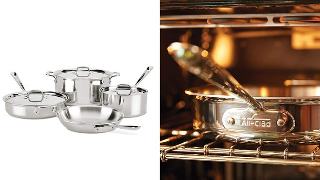 Upgrade your pots and pans with All-Clad.