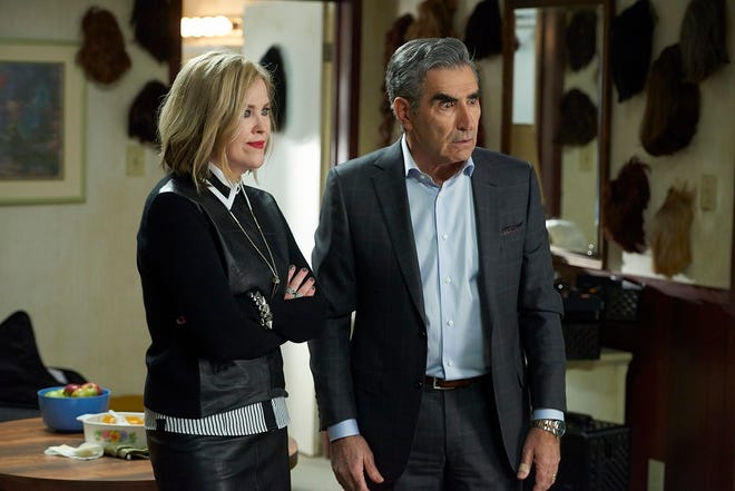 """Catherine O'Hara and Eugene Levy in """"Schitt's Creek."""""""