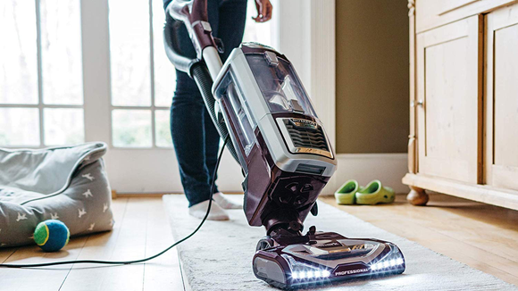 LED lights let you see exactly what needs vacuuming.