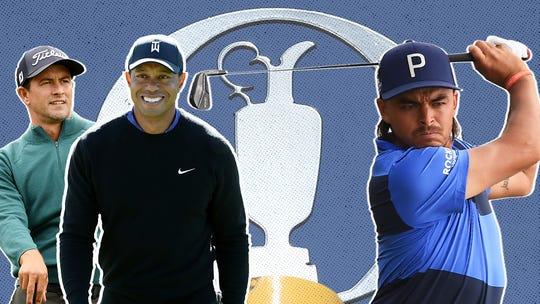 Tiger Woods jokes Brooks Koepka hasn't been so helpful for British Open prep