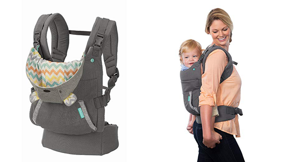 The Infantino Cuddle Up is One of our top-rated baby carriers