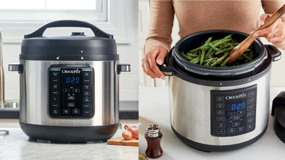 The Crock-Pot Express Crock is our former favorite multi-cooker.