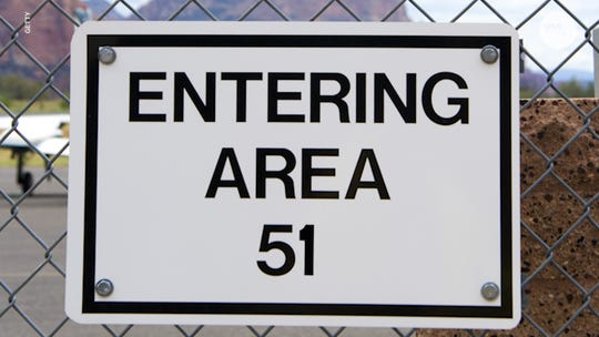 Alien seekers join forces to 'storm Area 51' together