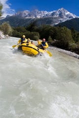 Rafting: Glacial melt delivers a thrilling whitewater rafting experience along the Arve River, with excursions departing just a few minutes' walk from Chamonix's main square.