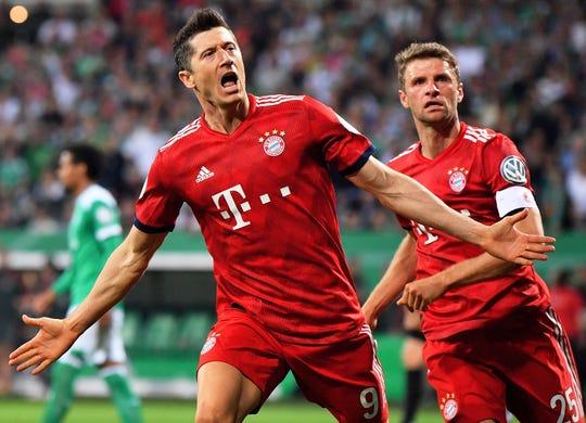Robert Lewandowski and German Bundesliga powerhouse Bayern Munich will play three preseason games in the U.S.