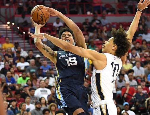 Tennessee basketball 'family' reunites at NBA summer league