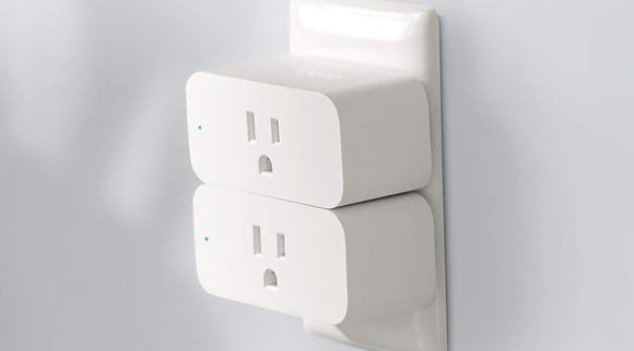 This Amazon Smart Plug syncs with your Alexa-enabled smart speaker to control any indoor outlet.