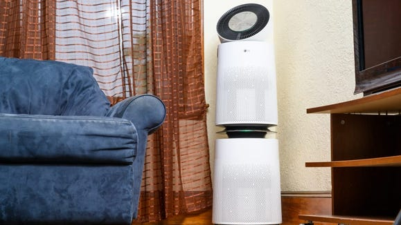 The LG AS560DWR0 Air Purifier was our pick for Best Smart Purifier.