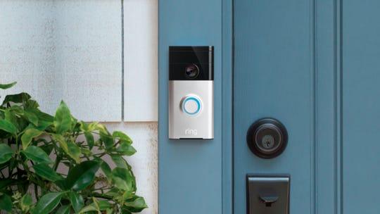 Ring doorbell.