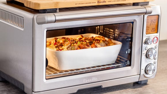 The Breville Smart Oven pro is our favorite toaster oven—and it's finally on sale.
